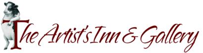 logo, the artists inn & gallery, cow